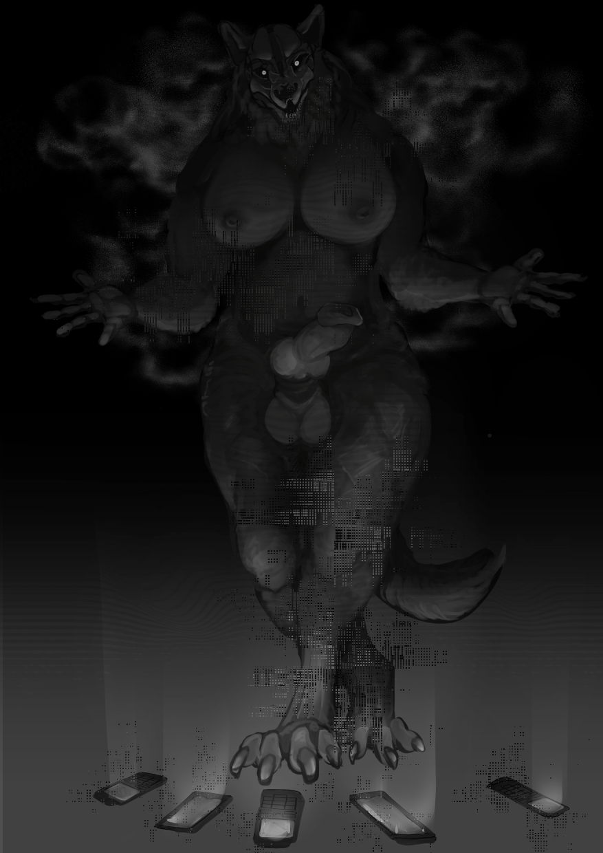 scp-1471-a Anime girl playing video games gif