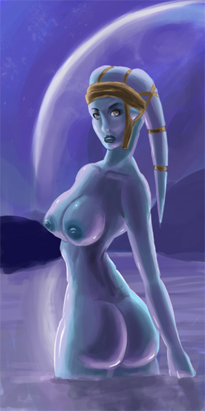 star nude aayla wars secura That time i got reincarnated as a slime porn comics
