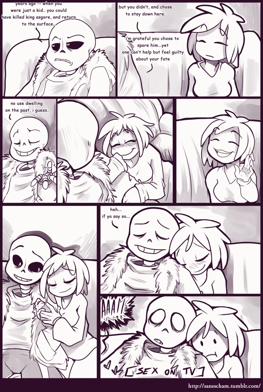 frisk fanfiction undertale sans x Android 18 and cell porn