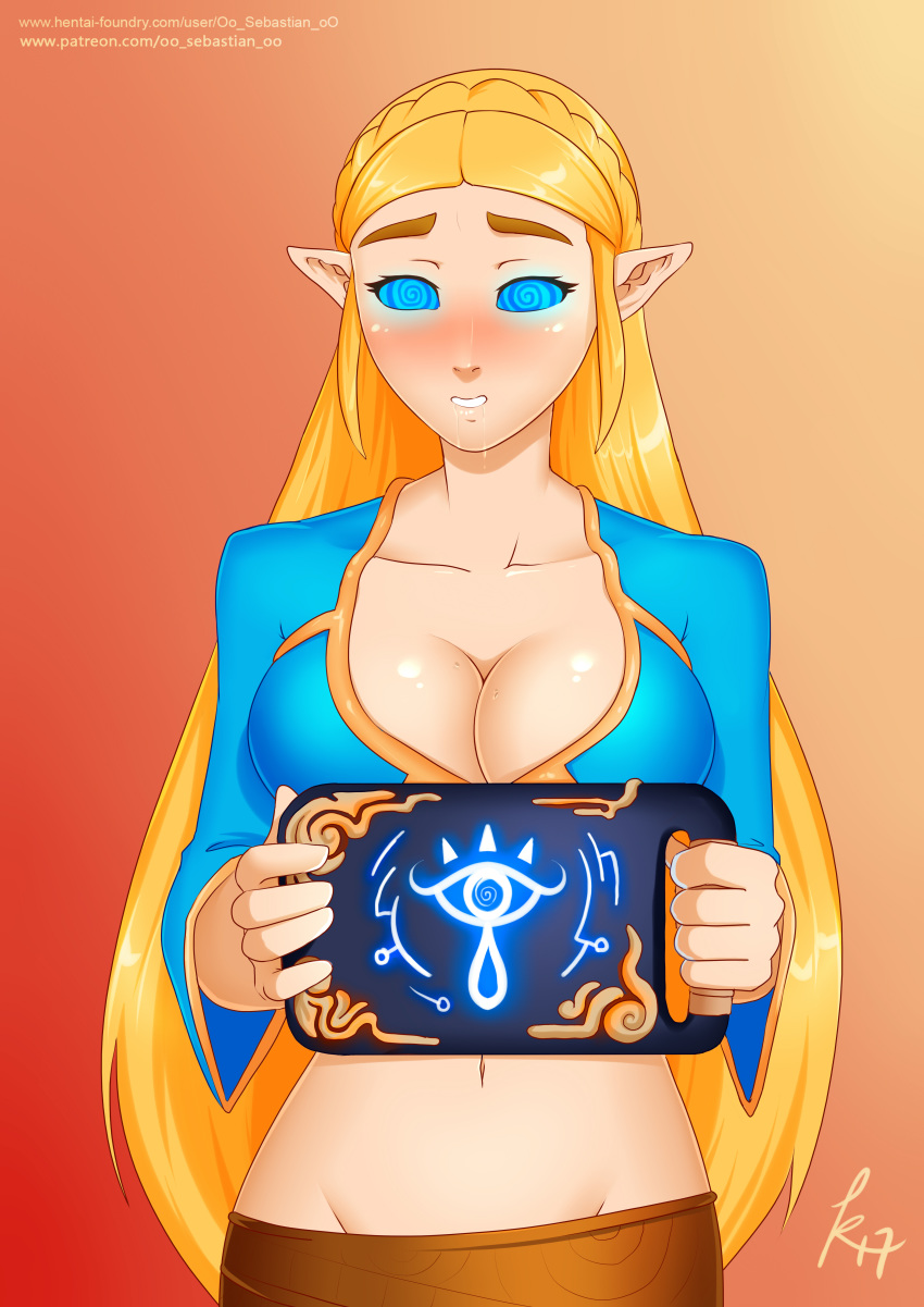 hentai breath the of rito wild Thread of prophecy is severed