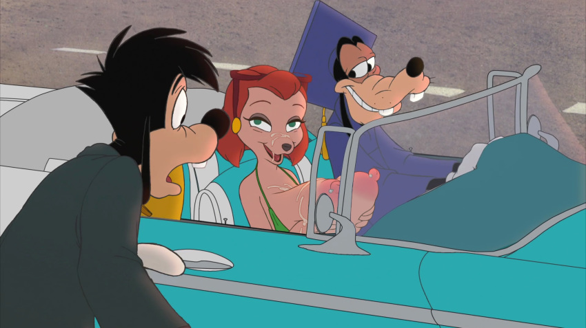 goofy movie disney an extremely Cute inkling girl with no gear