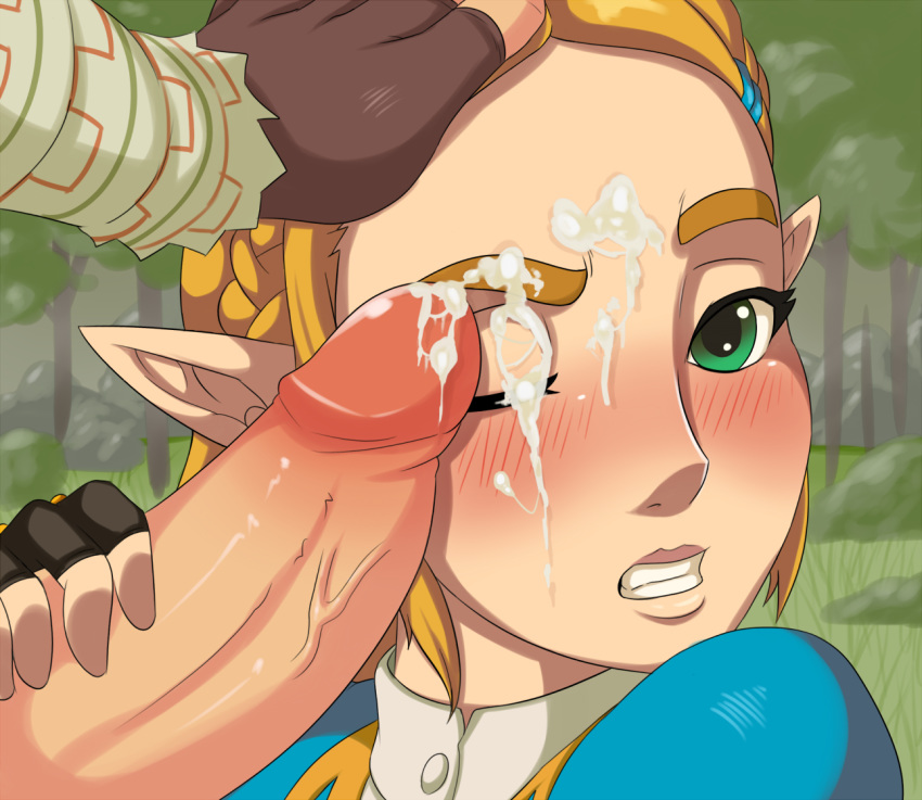 naked of wild breath the The legend of zelda animations