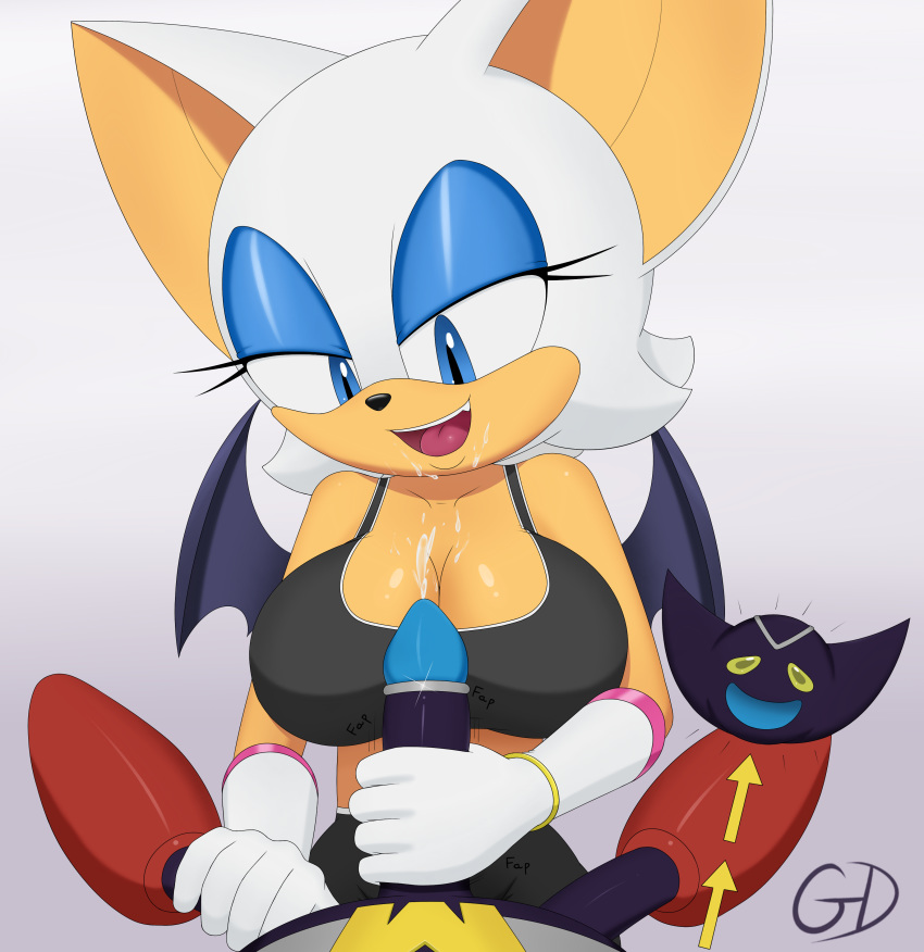 bat the tails and rouge Katana brave and the bold